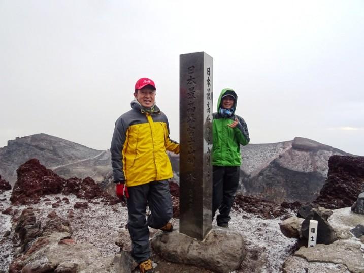 富士登山2014剣ヶ峰